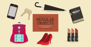 Regular objects that can be used for self-defense