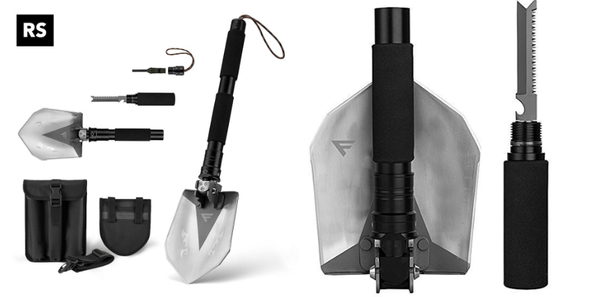 FiveJoy Military Folding Shovel Multitool (RS)