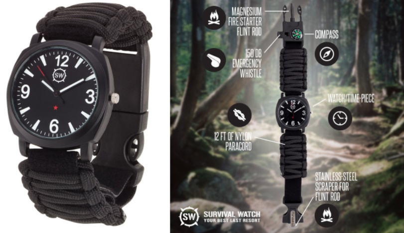 SharpSurvival Survival Watch V3