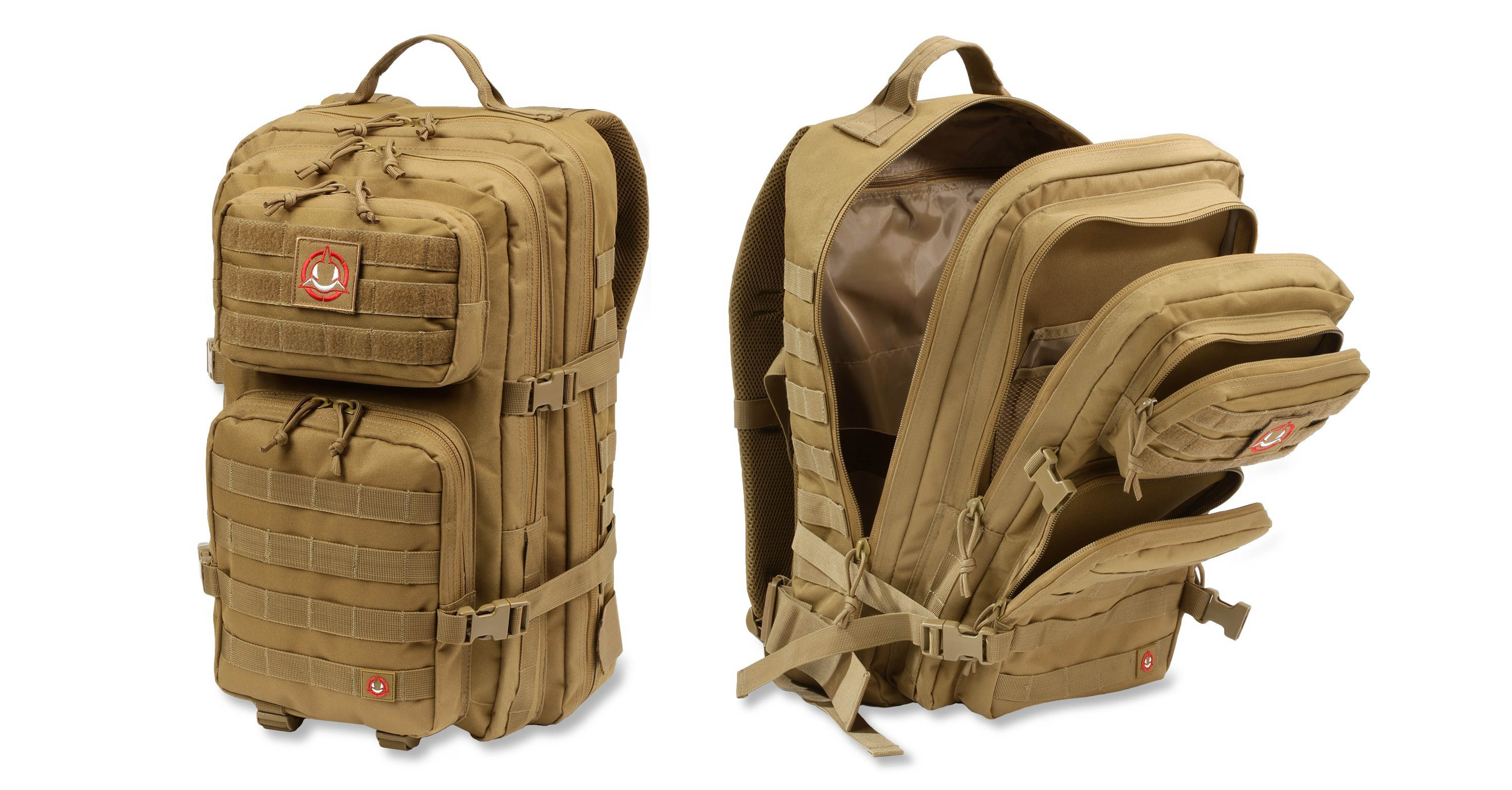 Orca Tactical SALISH 40L MOLLE Large 3-Day Army Military Survival Backpack Bug Out Bag