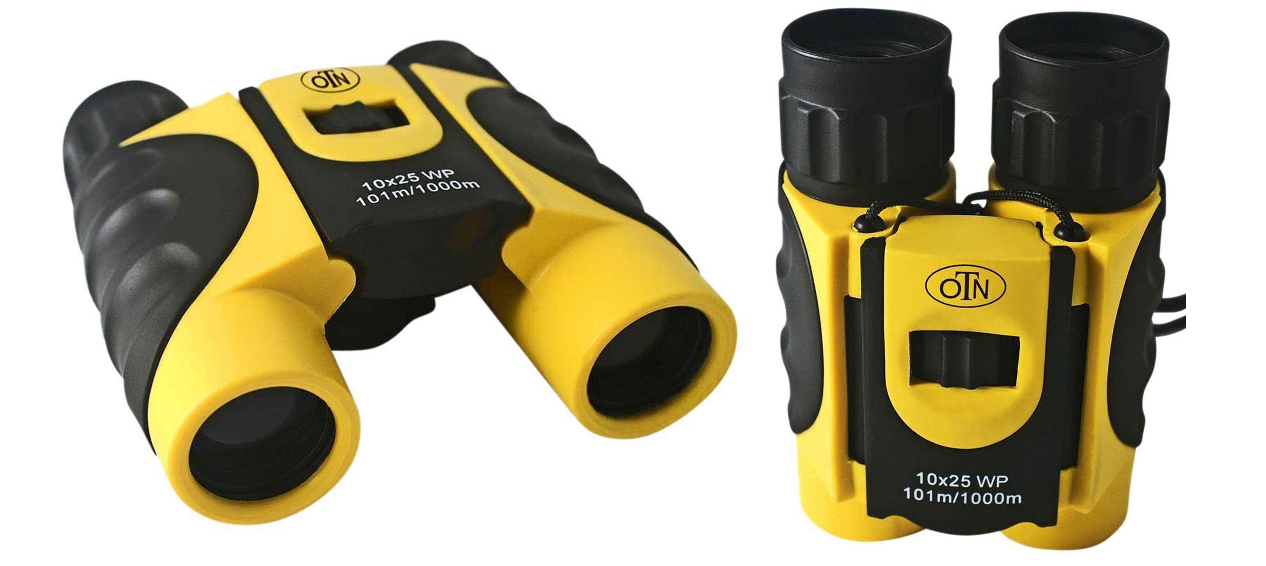 OutNowTech Ultra Compact Folding Binoculars 10x25