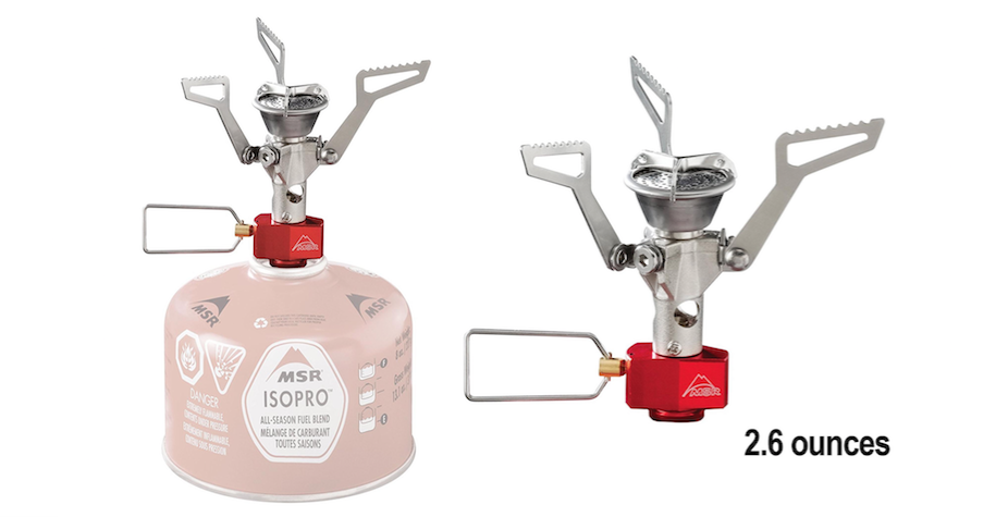 MSR PocketRocket 2 Ultralight Backpacking, Camping and Travel Stove
