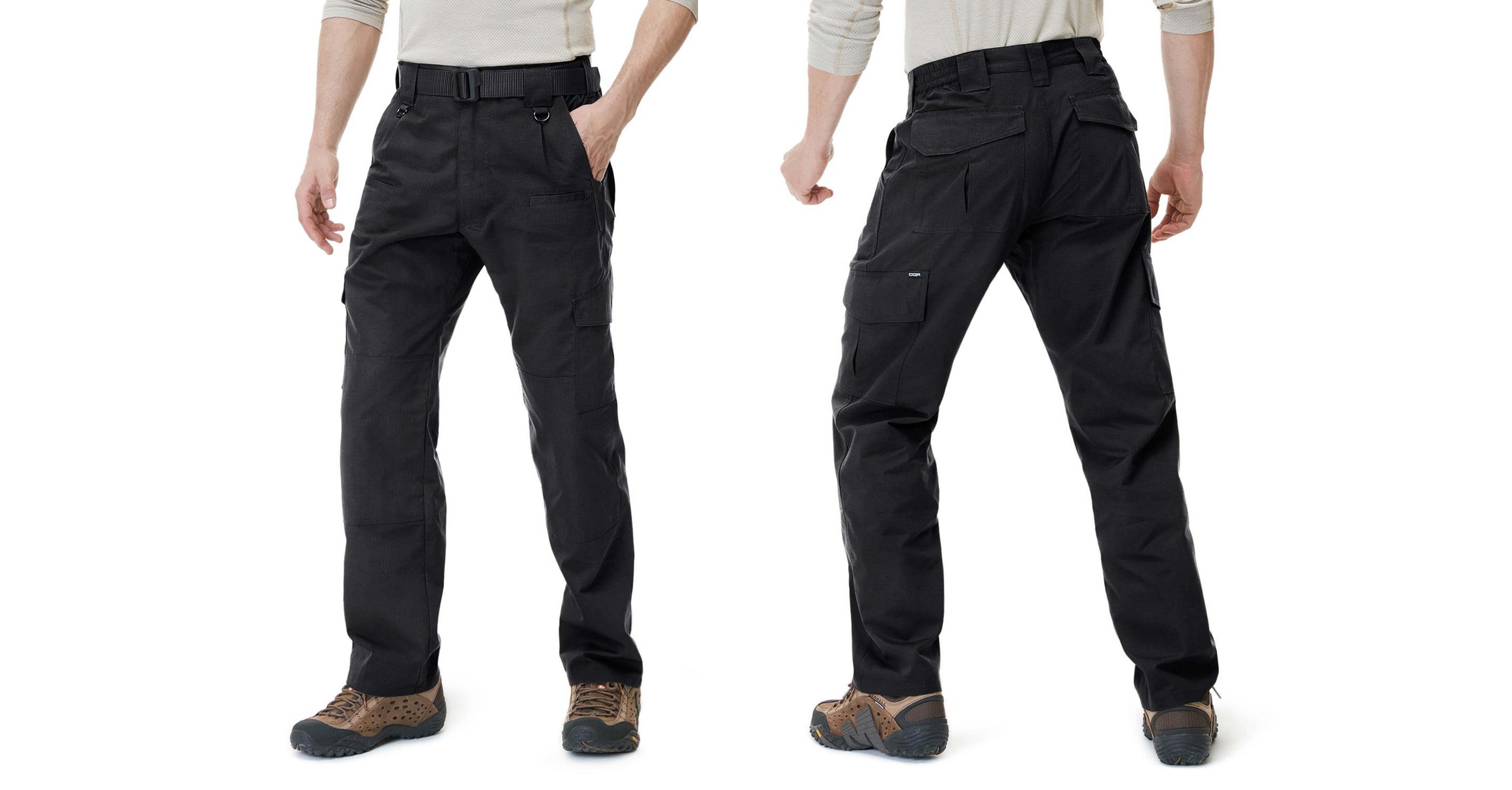 CQR Men's Tactical Pants Lightweight EDC Assault Cargo TLP104