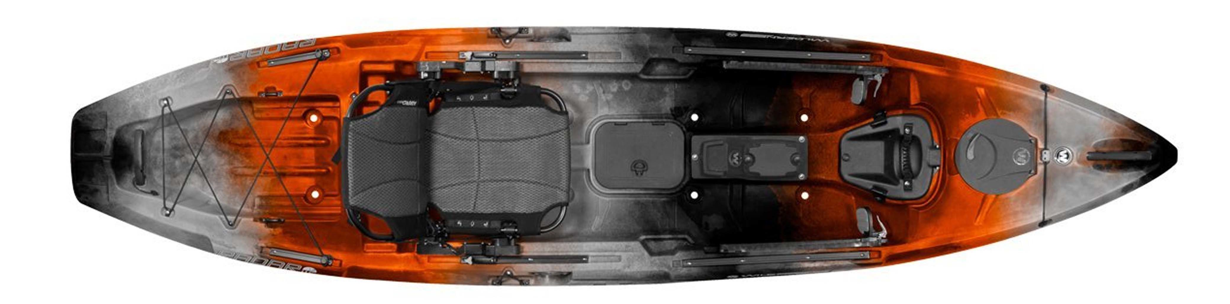 2017 Wilderness Radar 115 Fishing Kayak Package