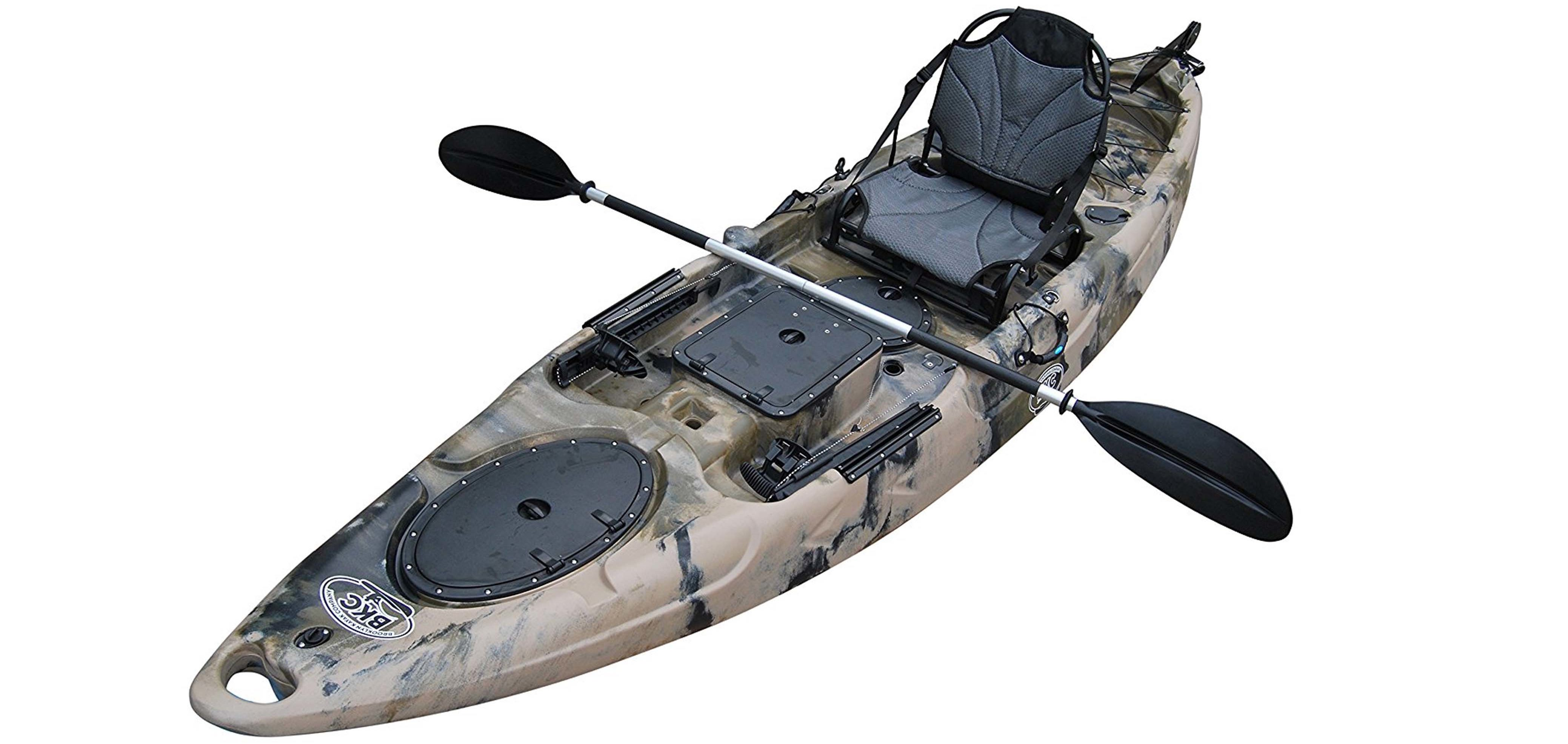 Brooklyn Kayak Company BKC UH-220 11-Foot 6-Inch Angler Sit on Top Fishing Kayak with PaddlesBrooklyn Kayak Company BKC UH-220 11-Foot 6-Inch Angler Sit on Top Fishing Kayak with Paddles