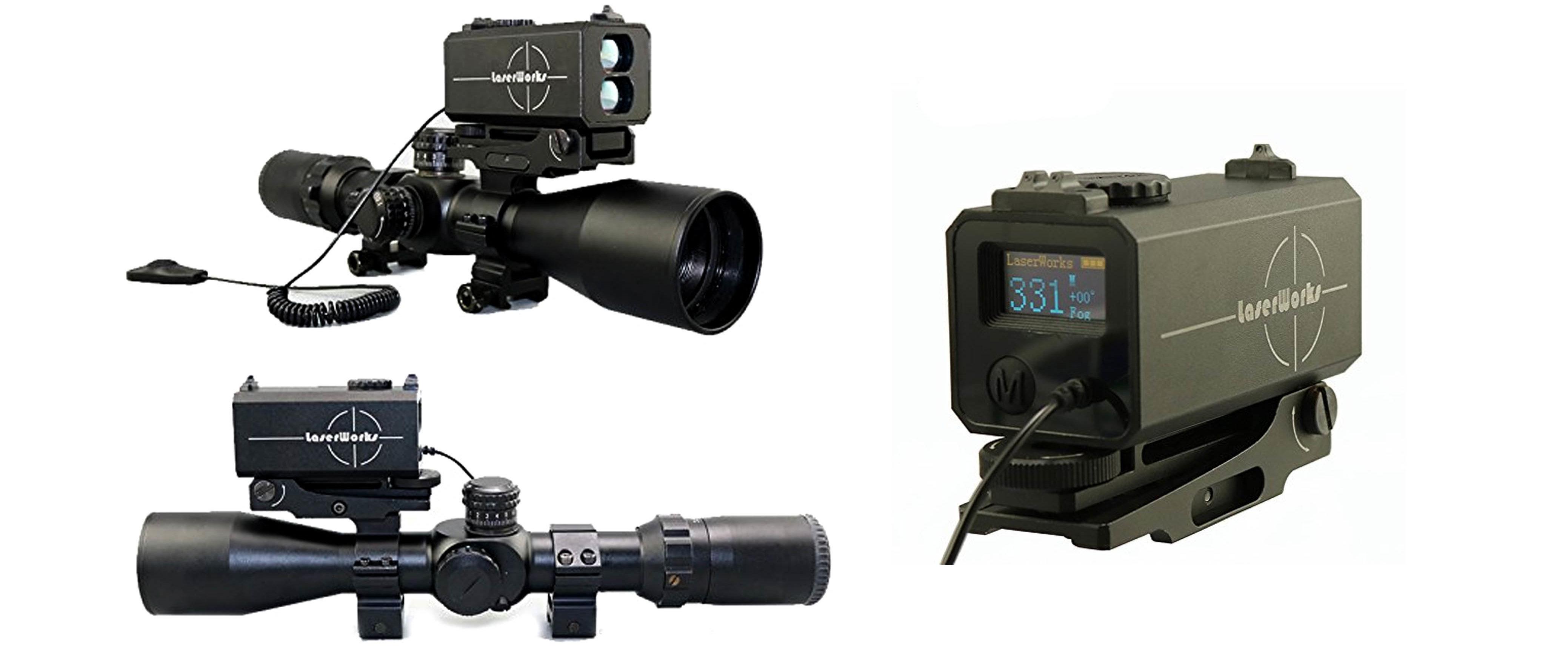 LaserWorks LE-032 Riflescope mate rangefinder 700M